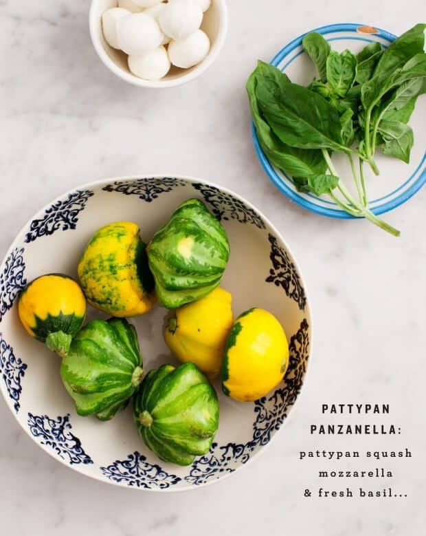 Pattypan Panzanella / loveandlemons.com