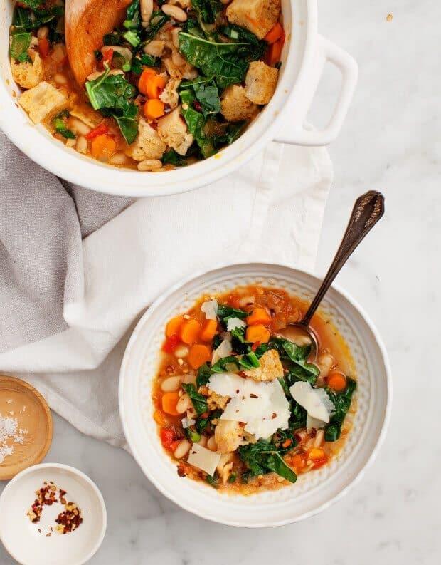 Ribollita (Tuscan White Bean Soup)