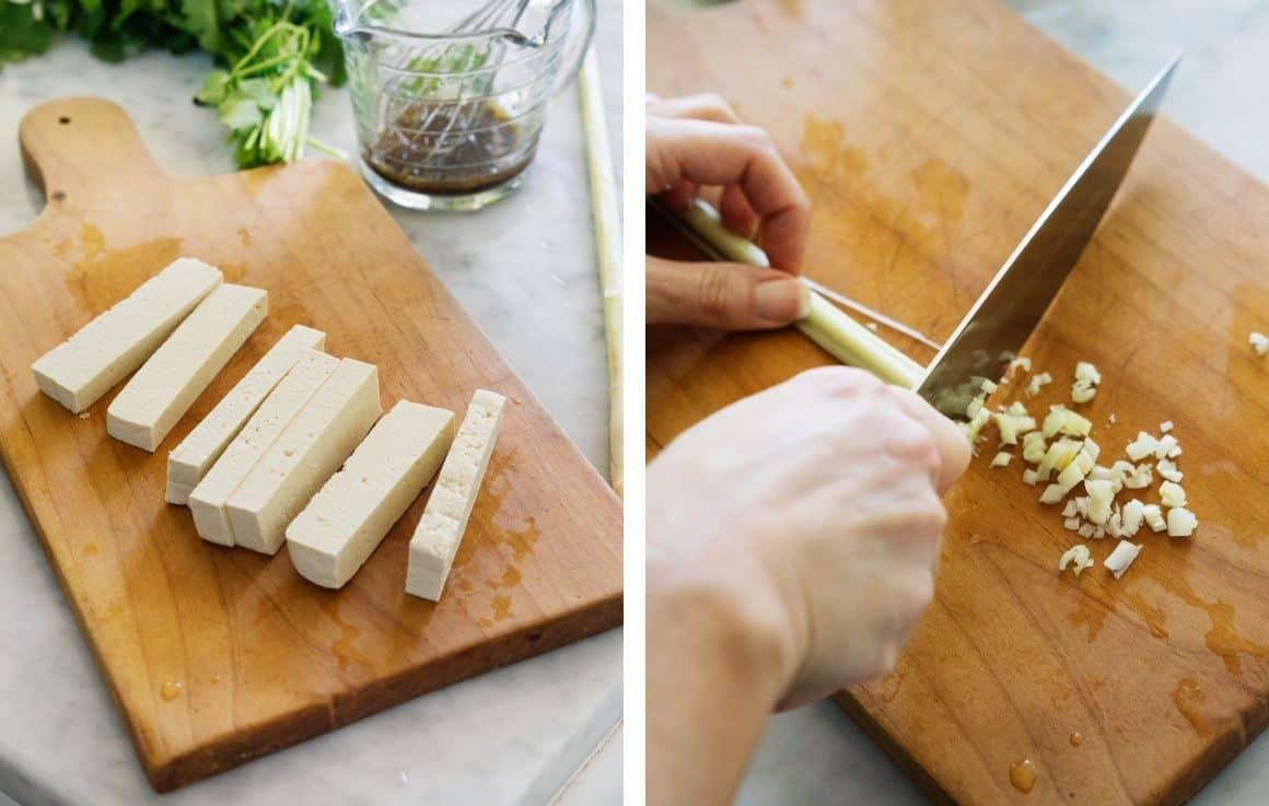 Lemongrass Banh Mi Spring Rolls