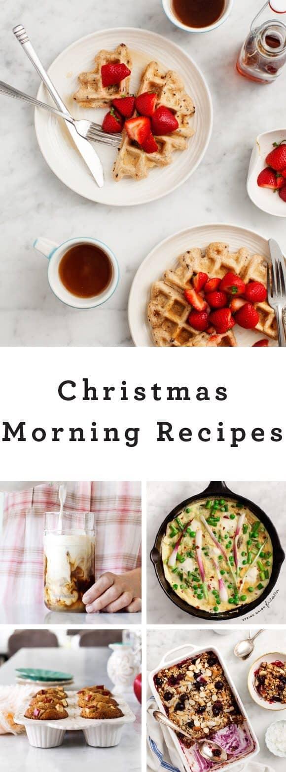 Christmas Morning Recipes