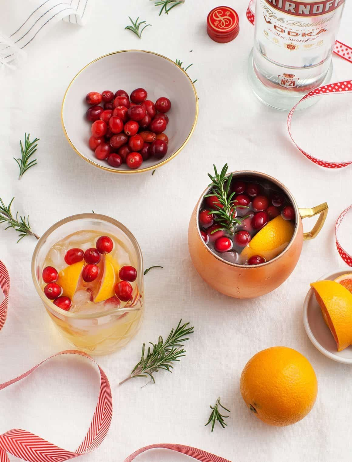 Winter Spiced Moscow Mule