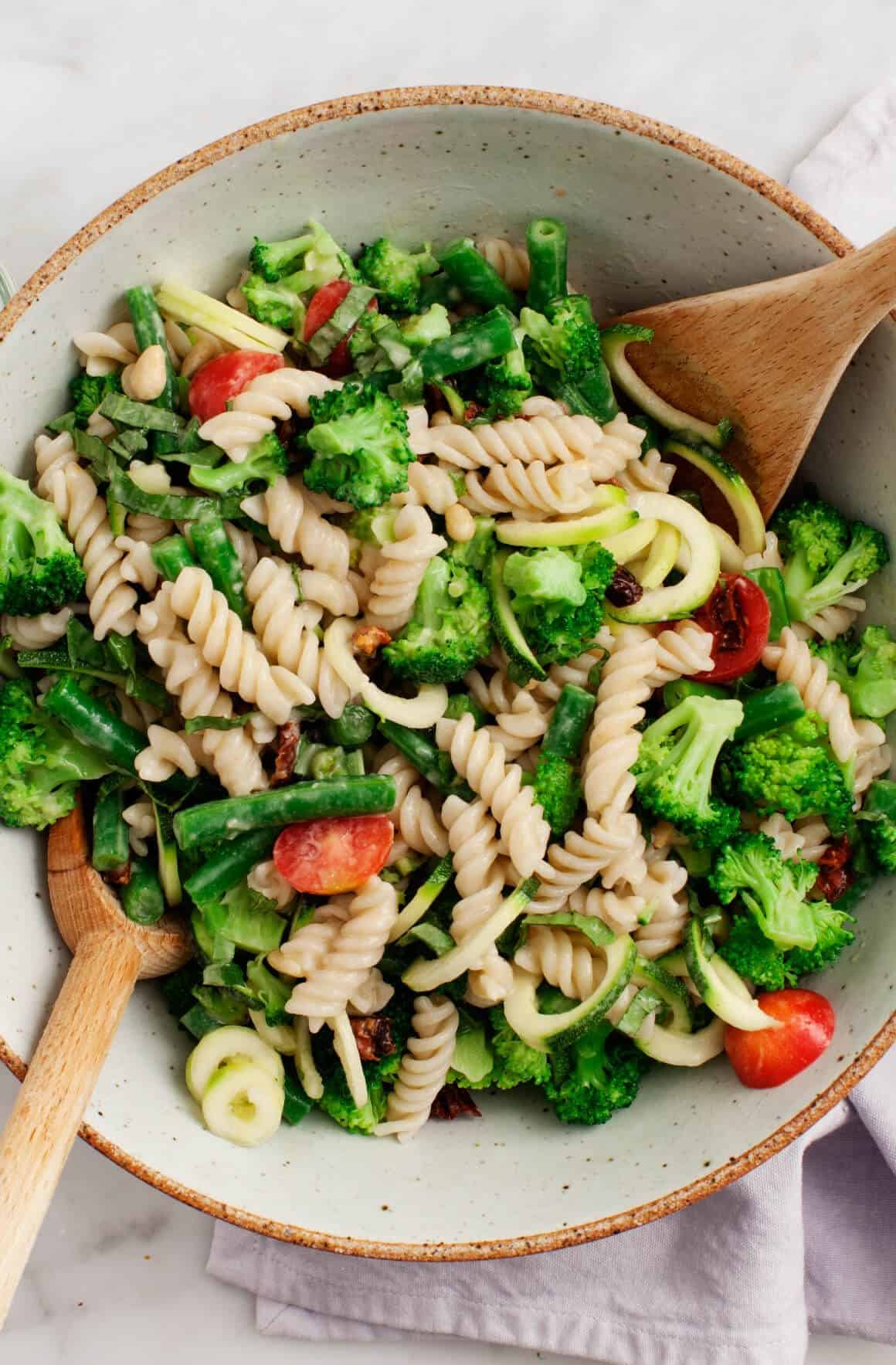 Top Recipes of 2016 - Broccoli Tahini Salad