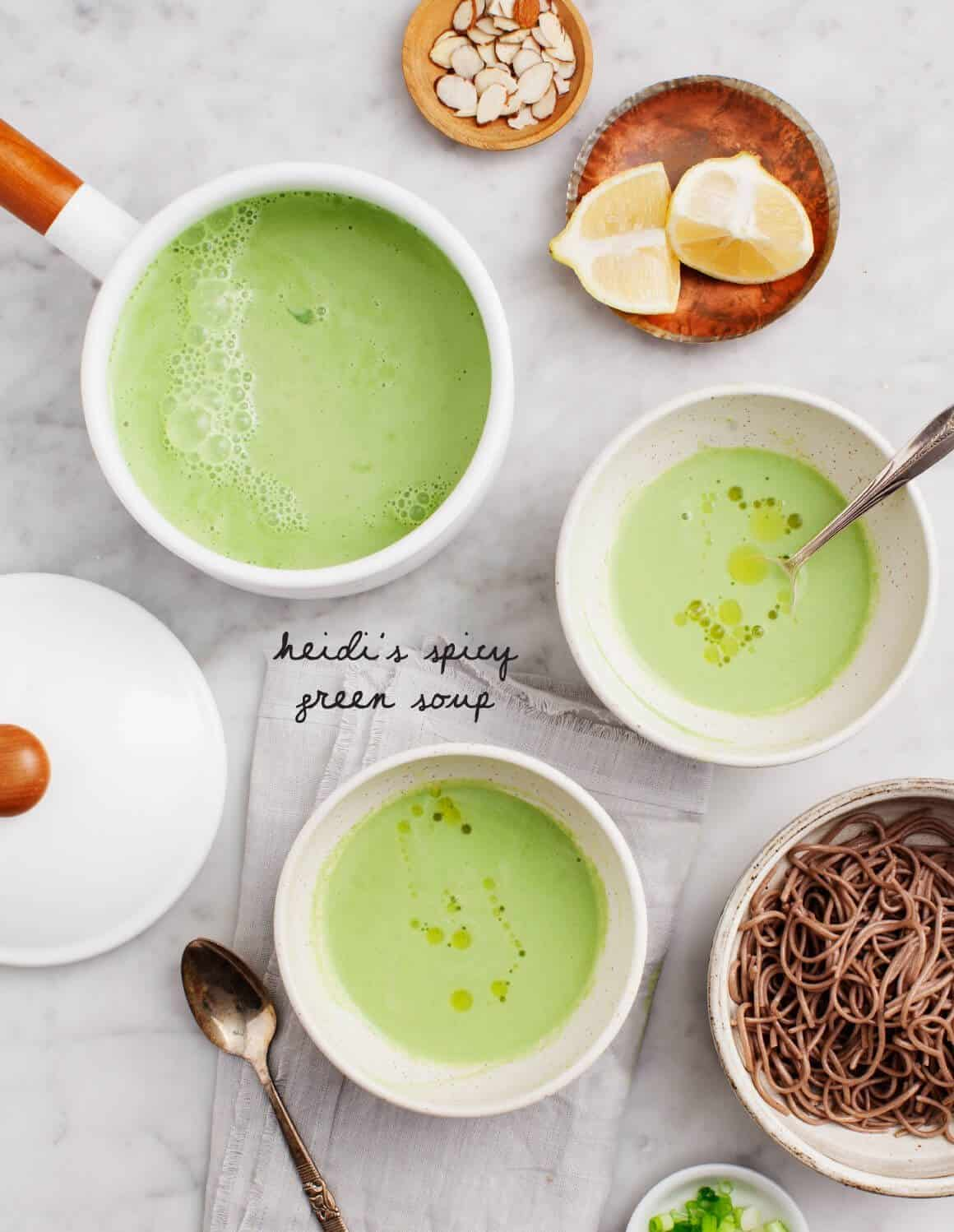 Heidi's Spicy Green Soup