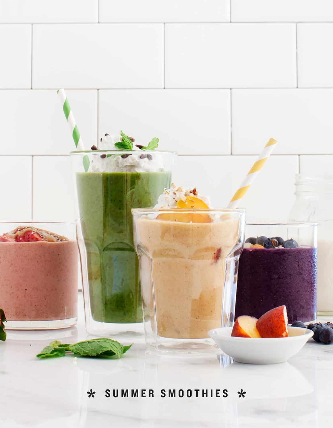 Super Fun Summer Smoothies!