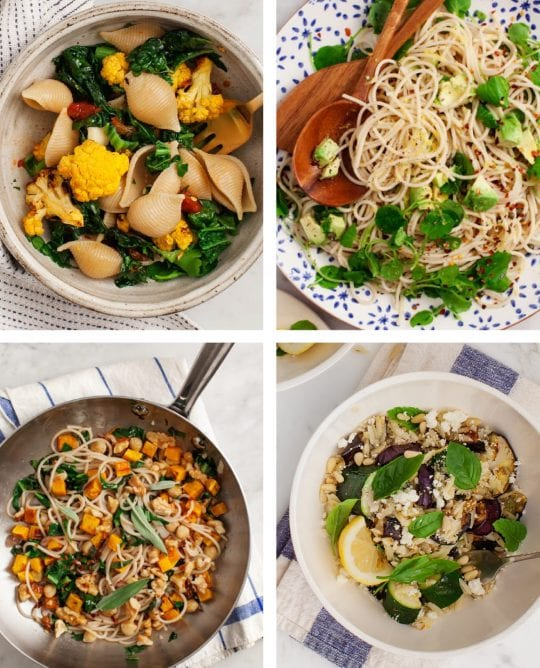 8 Favorite Pasta Recipes