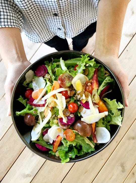Harvest Haven Salad & a trip to Madison